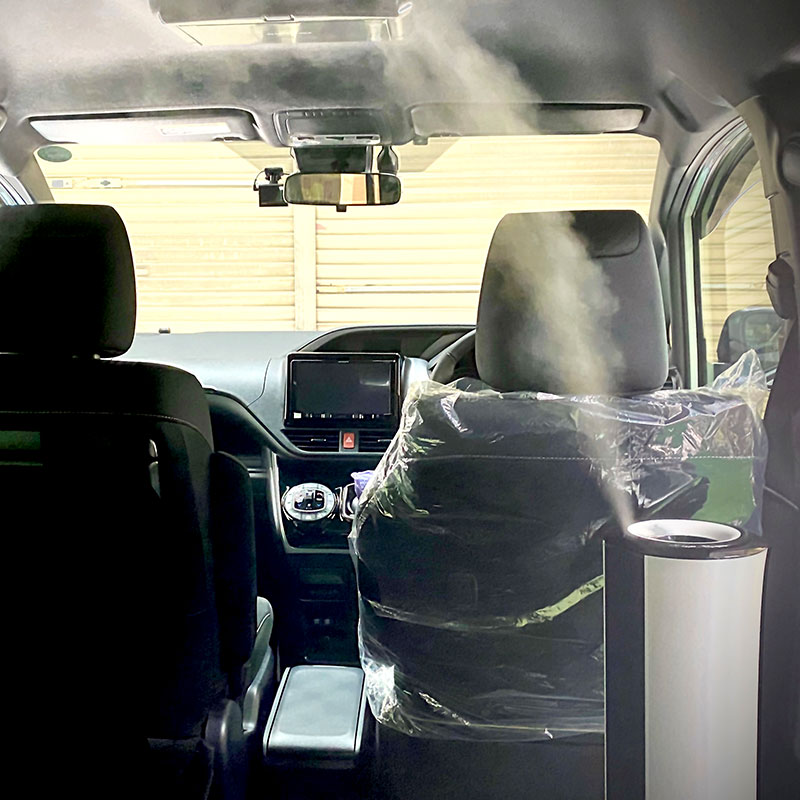 車内噴霧 エルドオートサービス有限会社 様(東京都)